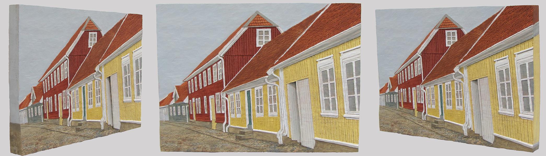 Gamla stan, Falkenberg, från olika vinklar