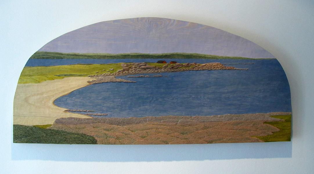 Grimsholmen - 120x53cm