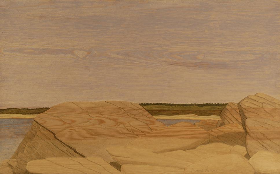 Gyllene strand - 80x50cm