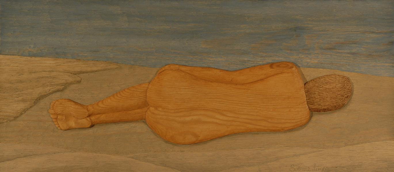 Liggande kvinna - 74x33cm