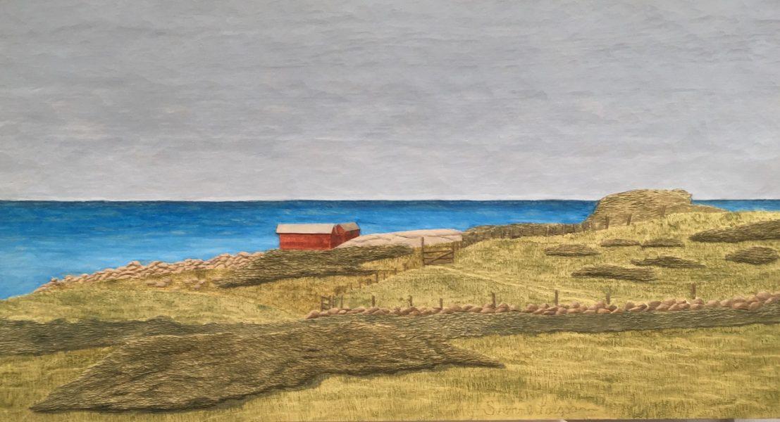 Strandängar - 78x43cm