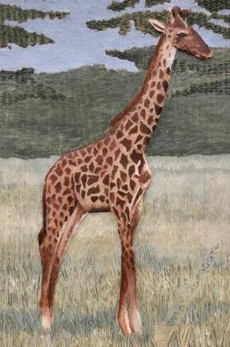 Giraff - 17x25cm