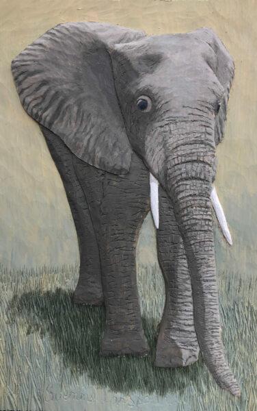 Elefant - 25x17 cm